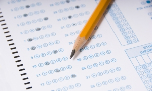 Scantron test image